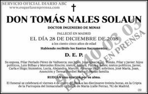 Tomás Nales Solaun