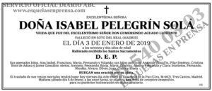 Isabel Pelegrín Solá