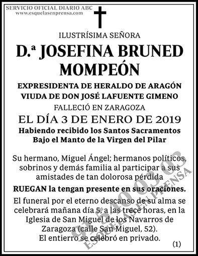 Josefina Bruned Mompeón