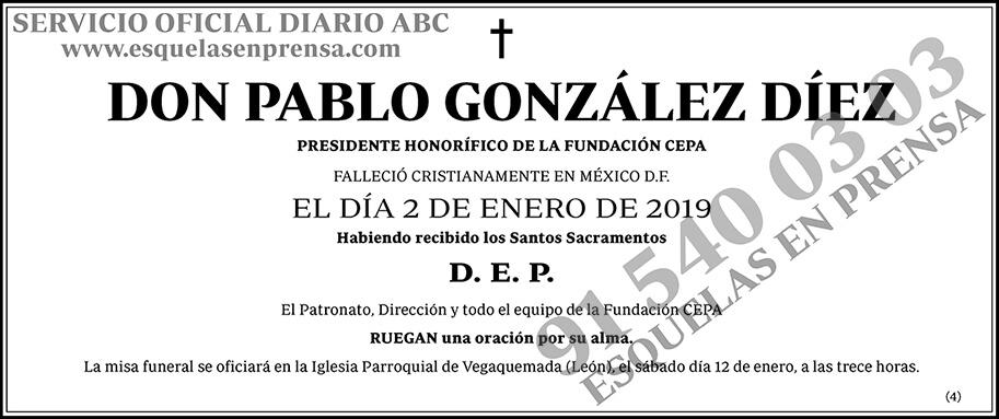 Pablo González Díez