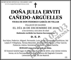 Julia Erviti Cañedo-Argüelles