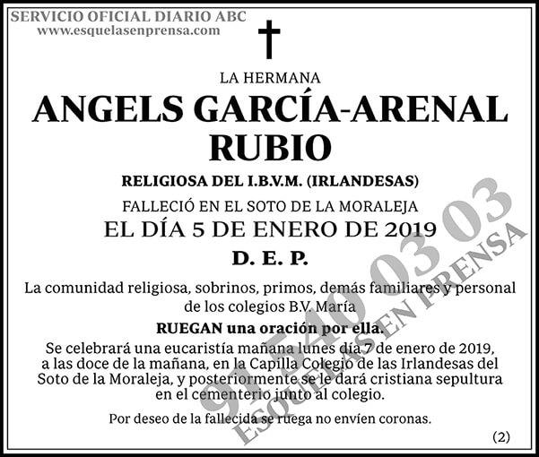 Angels García-Arenal Rubio