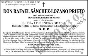 Rafael Sánchez-Lozano Prieto