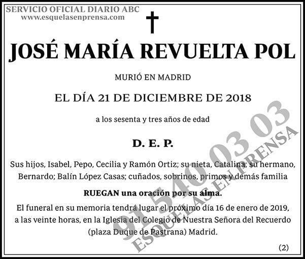 José María Revuelta Pol