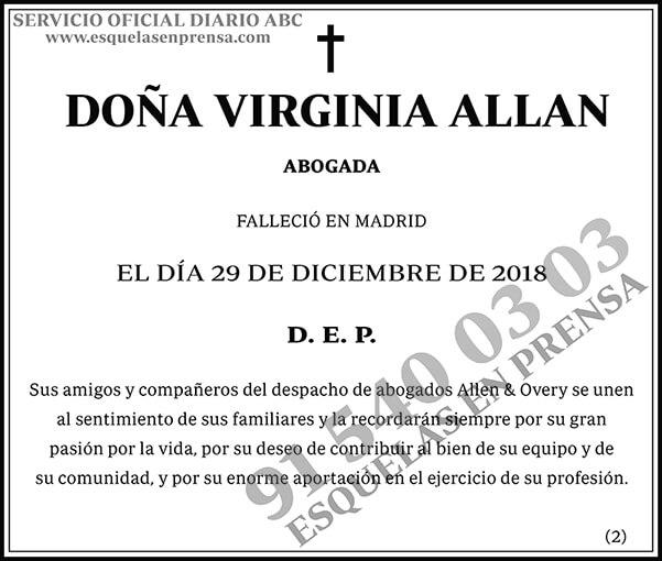 Virginia Allan