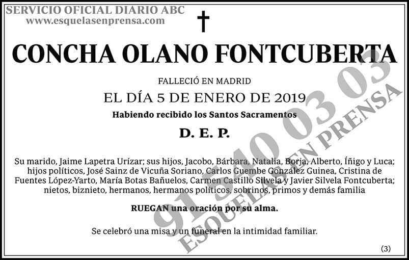 Concha Olano Fontcuberta