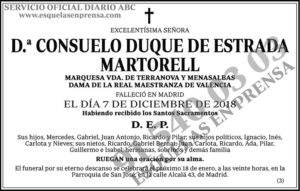 Consuelo Duque de Estrada Martorell