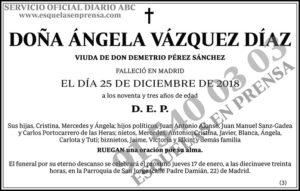 Ángela Vázquez Díaz