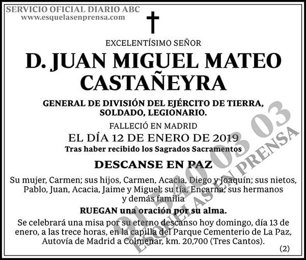 Juan Miguel Mateo Castañeyra
