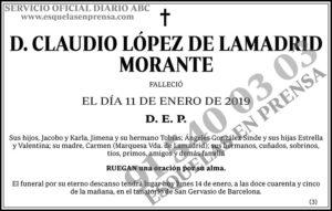 Claudio López de Lamadrid Morante
