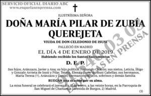María Pilar de Zubía Querejeta