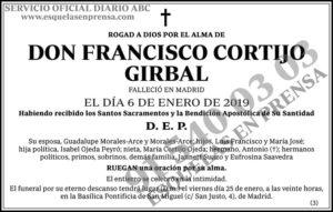 Francisco Cortijo Girbal