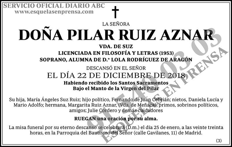 Pilar Ruiz Aznar