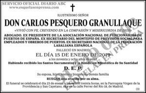 Carlos Pesquero Granullaque