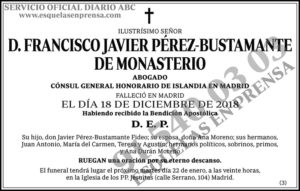 Francisco Javier Pérez-Bustamante de Monasterio
