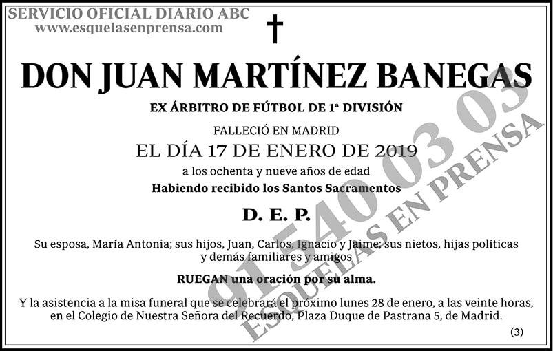 Juan Martínez Banegas