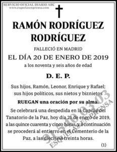 Ramón Rodríguez Rodríguez