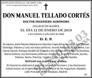 Manuel Tellado Cortés