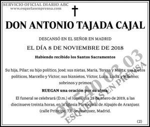 Antonio Tajada Cajal
