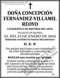 Concepción Fernández-Villamil Reoyo