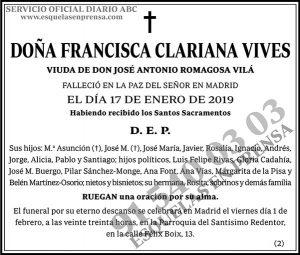 Francisca Clariana Vives