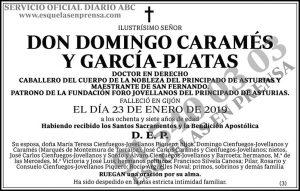 Domingo Caramés y García-Platas