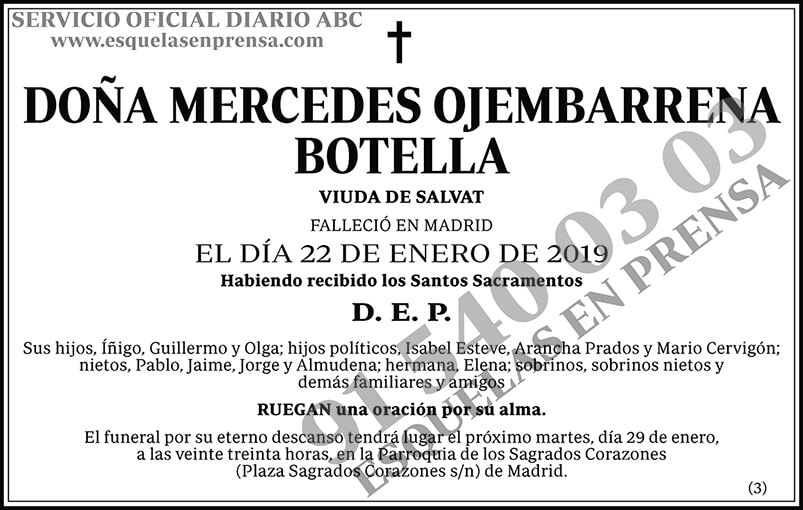 Mercedes Ojembarrena Botella