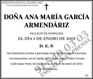 Ana María García Armendáriz