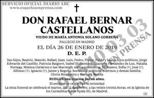 Rafael Bernar Castellanos