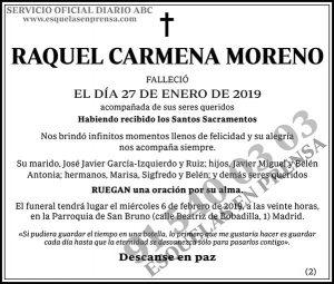 Raquel Carmena Moreno