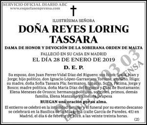 Reyes Loring Tassara