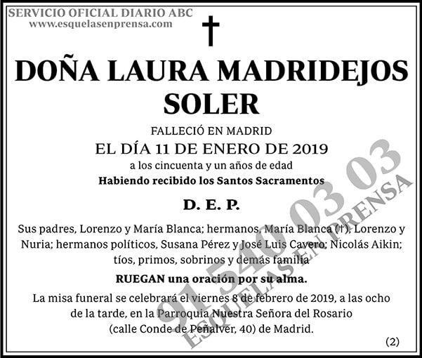 Laura Madridejos Soler