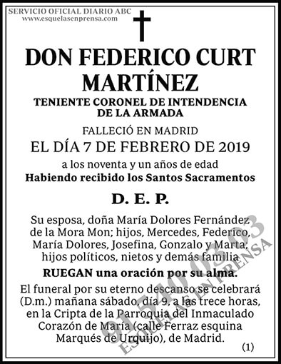 Federico Curt Martínez
