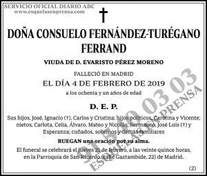 Consuelo Fernández-Turégano Ferrand