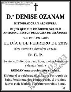 Denise Ozanam