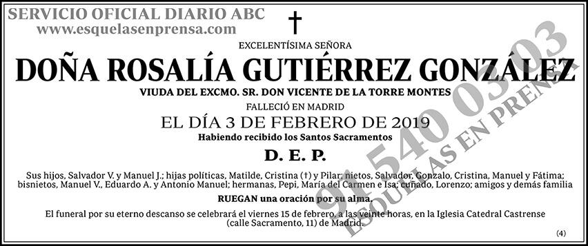 Rosalía Gutiérrez González
