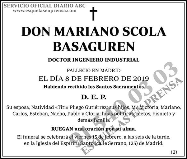 Mariano Scola Basaguren