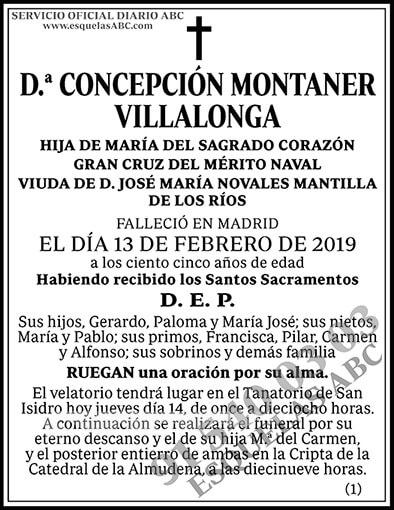 Concepción Montaner Villalonga