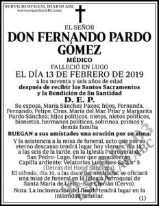 Fernando Pardo Gómez