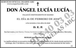 Ángel Lucía Lucía