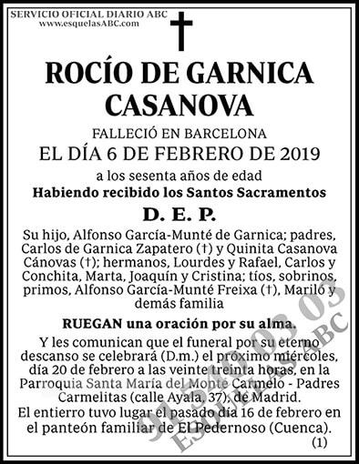 Rocío de Garnica Casanova