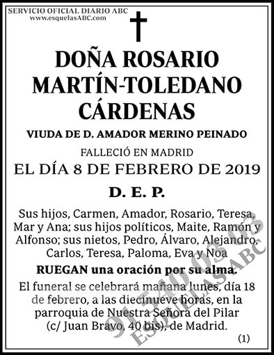 Rosario Martín-Toledano Cárdenas