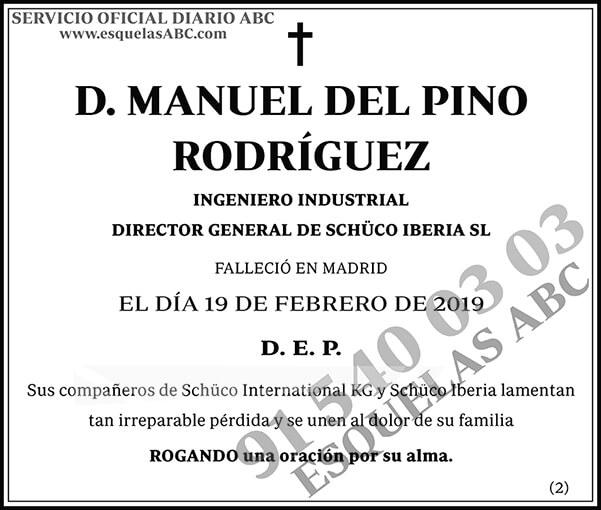Manuel del Pino Rodríguez