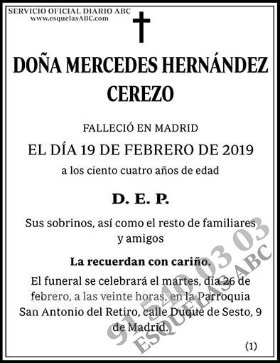 Mercedes Hernández Cerezo