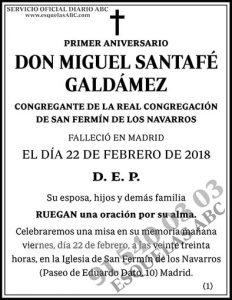 Miguel Santafé Galdámez