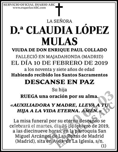 Claudia López Mulas