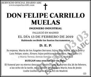 Felipe Carrillo Muelas