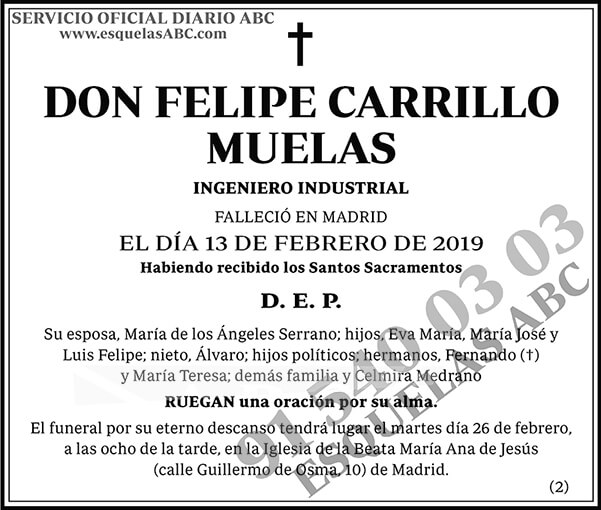 Felipe Carrillo Muelas