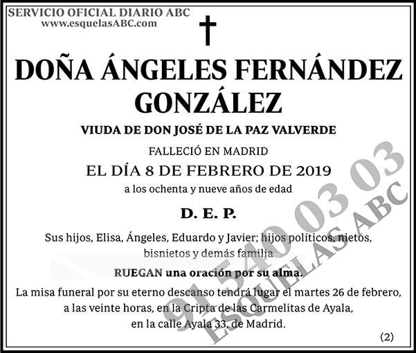 Ángeles Fernández González