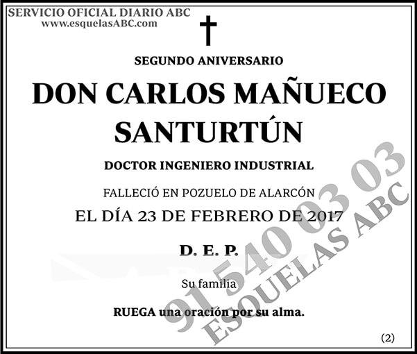 Carlos Mañueco Santurtún